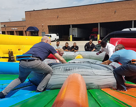 Some healthy competition keeps the office atmosphere interesting (and fun!) during our annual employee appreciation events.