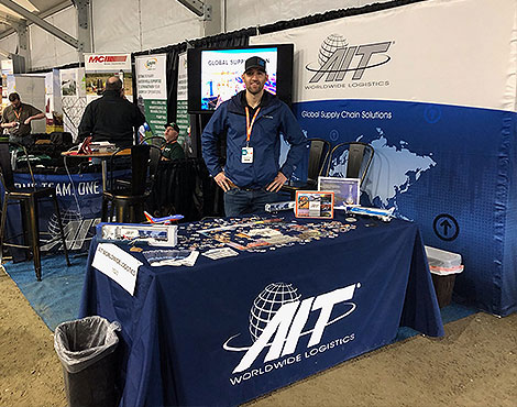 Many of the World Ag Expo's 160,000 attendees stopped by AIT's booth to learn more about the company's solutions and options for the agricultural industry.