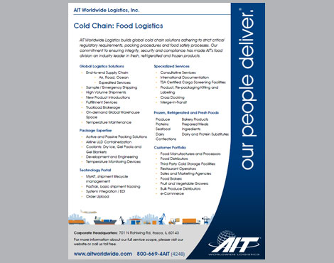 Cold Chain Food Logistics