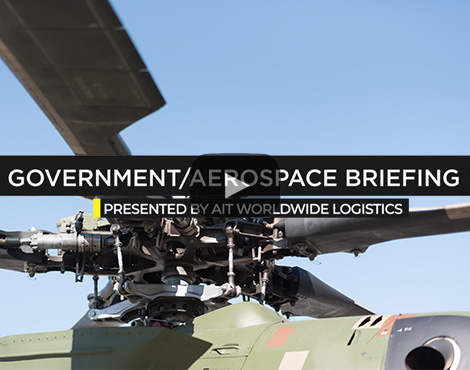 Government/Aerospace Briefing: Military equipment shipping entails strategic planning, cultural insight