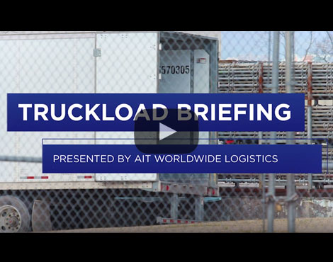 Truckload Briefing: Second-quarter truckload volumes resemble peak Fourth of July demand